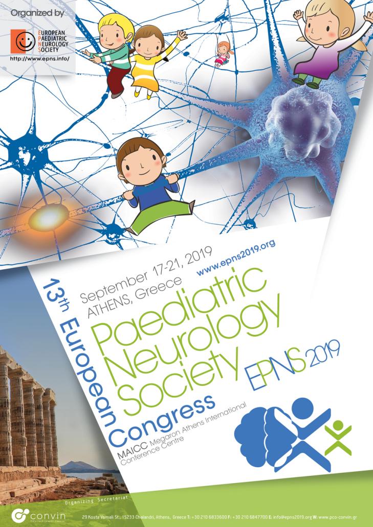13th European Paediatric Neurology Congress (EPNS 2019) | PCO Convin